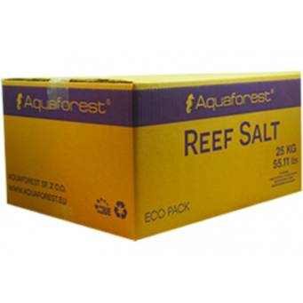 Aquaforest Reef Salt 25kg box