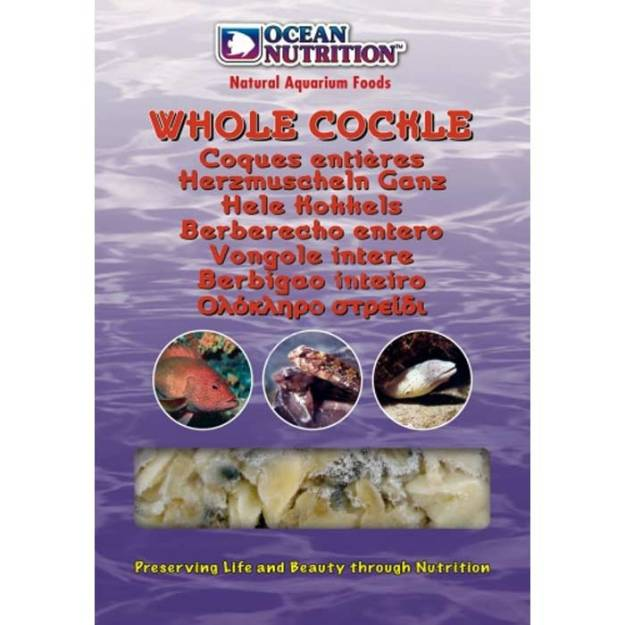 Ocean Nutrition Whole Cockles 100g